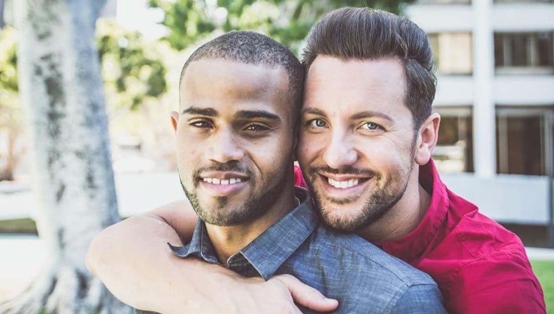 Gay men together